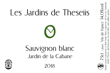 Sauvignon Cabane 2018 horizontal logo gauche 300x200